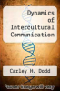 cover of Dynamics of Intercultural Communication (3rd edition)