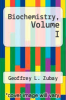 cover of Biochemistry, Volume I (3rd edition)
