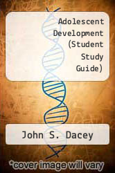 Cover of Adolescent Development (Student Study Guide) 94 (ISBN 978-0697209979)