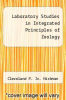 cover of Laboratory Studies in Integrated Principles of Zoology (8th edition)