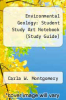 cover of Environmental Geology : Student Study Art Notebook (Study Guide) (4th edition)