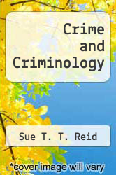 Cover of Crime and Criminology 7 (ISBN 978-0697274632)