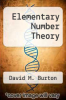 cover of Elementary Number Theory (3rd edition)