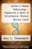 cover of Larsen`s Human Embryology - Pageburst E-Book on VitalSource (Retail Access Card) (4th edition)