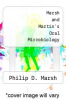 cover of Marsh and Martin`s Oral Microbiology (6th edition)