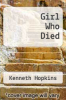 cover of Girl Who Died