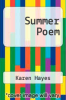 cover of Summer Poem