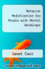 cover of Behavior Modification for People with Mental Handicaps (2nd edition)