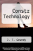 cover of Constr Technology