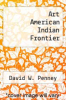 cover of Art American Indian Frontier