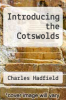 cover of Introducing the Cotswolds