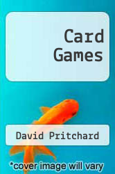 Cover of Card Games EDITIONDESC (ISBN 978-0715805107)