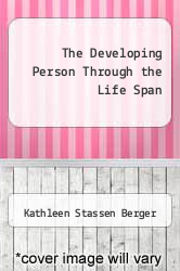 Cover of The Developing Person Through the Life Span 6 (ISBN 978-0716703877)