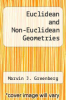cover of Euclidean and Non-Euclidean Geometries