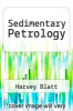 cover of Sedimentary Petrology