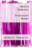 cover of General Chemistry : Instructors Manual