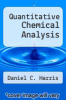 cover of Quantitative Chemical Analysis (3rd edition)