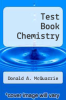 cover of Test Book Chemistry (3rd edition)
