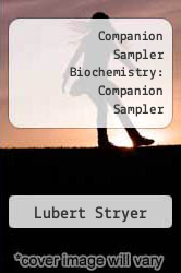 Cover of Companion Sampler Biochemistry: Companion Sampler 4 (ISBN 978-0716727415)
