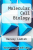 cover of Molecular Cell Biology (4th edition)