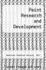 cover of Paint Research and Development (1st edition)