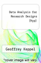 Cover of Data Analysis for Research Designs (Nyp) XXX (ISBN 978-0716754756)