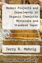Cover of Modern Projects and Experiments in Organic Chemistry Miniscale and Standard Taper Microscale - With CD 2ND 03 (ISBN 978-0716757443)