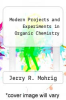 cover of Modern Projects and Experiments in Organic Chemistry
