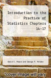 Cover of Introduction to the Practice of Statistics Chapters 14-17 5TH 06 (ISBN 978-0716764069)