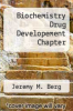 cover of Biochemistry Drug Developement Chapter