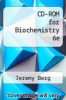 cover of CD-ROM for Biochemistry 6e