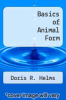 cover of Basics of Animal Form