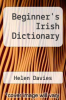 cover of Beginner`s Irish Dictionary