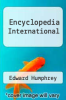 cover of Encyclopedia International