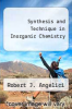 cover of Synthesis and Technique in Inorganic Chemistry (2nd edition)