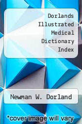 Cover of Dorlands Illustrated Medical Dictionary Index 26 (ISBN 978-0721631516)
