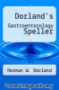 cover of Dorland`s Gastroenterology Speller (2nd edition)