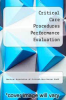 cover of Critical Care Procedures Performance Evaluation