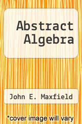 Cover of Abstract Algebra EDITIONDESC (ISBN 978-0721661872)
