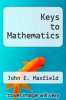 cover of Keys to Mathematics