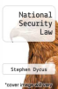 cover of National Security Law (4th edition)