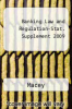 Banking Law and Regulation-Stat. Supplement 2009 by Macey - ISBN 9780735589865