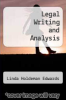 cover of Legal Writing and Analysis (3rd edition)