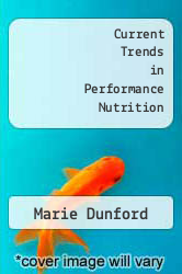 Cover of Current Trends in Performance Nutrition  (ISBN 978-0736052207)