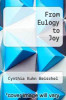 cover of From Eulogy to Joy