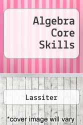 Cover of Algebra Core Skills 2001 (ISBN 978-0739848951)