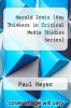 cover of Harold Innis (Key Thinkers in Critical Media Studies Series) ( edition)