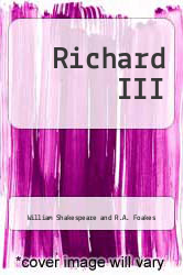 Cover of Richard III (Folger Shakespeare Library Series) EDITIONDESC (ISBN 978-0743482844)