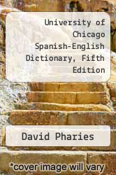 Cover of University of Chicago Spanish-English Dictionary, Fifth Edition EDITIONDESC (ISBN 978-0743483643)