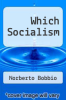 cover of Which Socialism